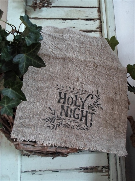 Shabby doek holy night